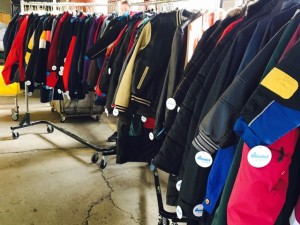 Coats getting ready to be donated to your local Salvation Army centers in an effort to Keep Kids warm this winter!