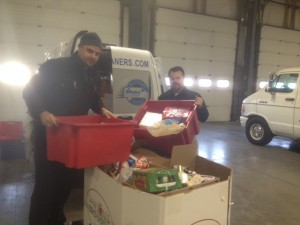 Delivering Canned Food to the Hungry